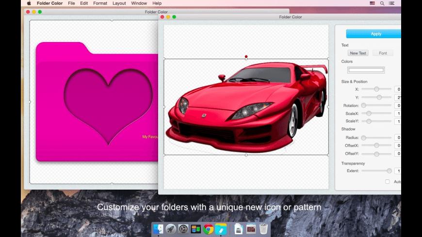 Folder Color for Mac - review, screenshots