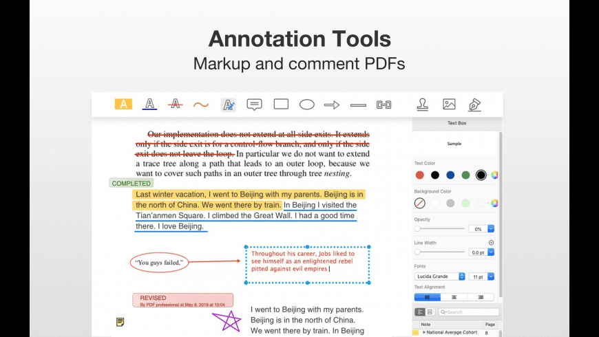 PDF Professional for Mac - review, screenshots