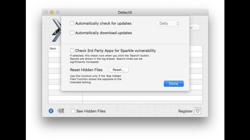 DetectX for Mac - review, screenshots