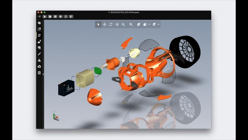eDrawings Viewer for Mac - review, screenshots