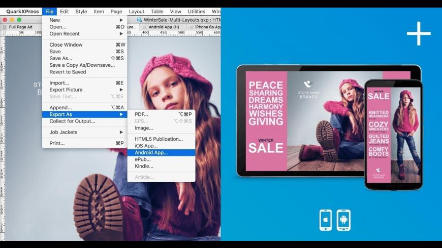 QuarkXPress for Mac - review, screenshots