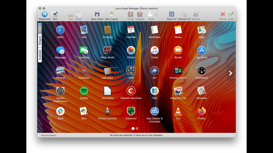 Launchpad Manager for Mac - review, screenshots