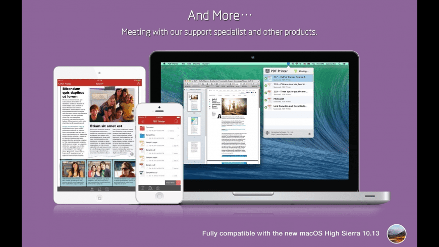 PDF Printer for Mac - review, screenshots