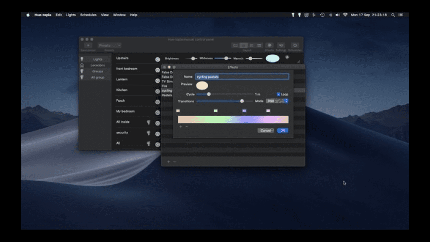 Hue-topia for Mac - review, screenshots