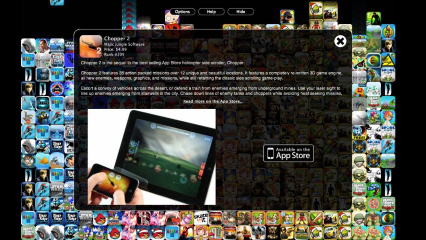 Appfall for Mac - review, screenshots