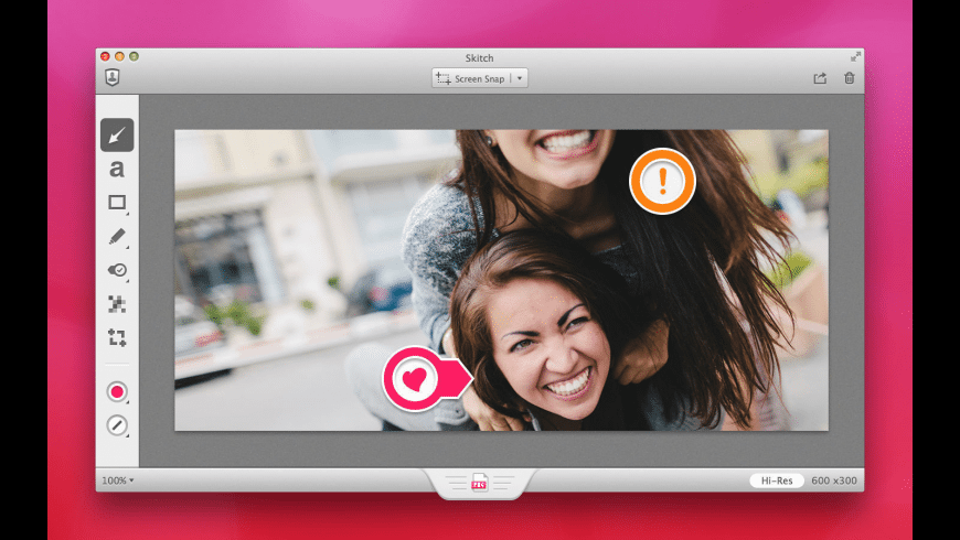 Skitch for Mac - review, screenshots