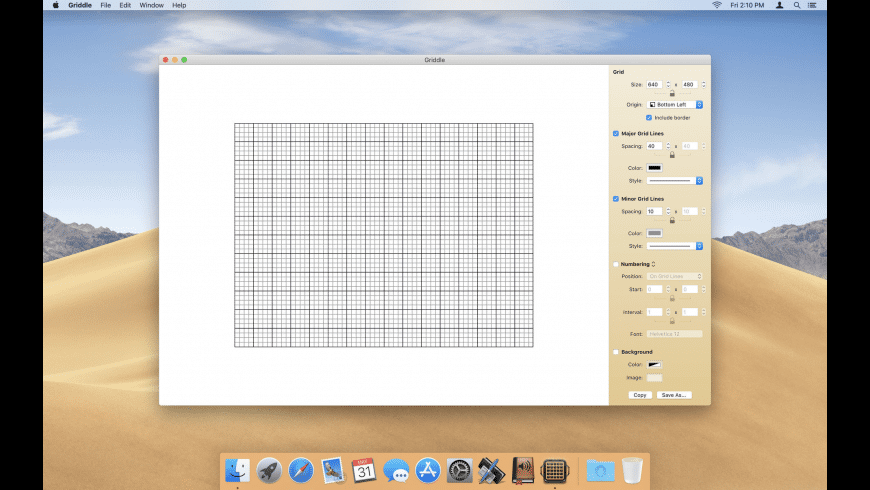 PixelGriddle for Mac - review, screenshots