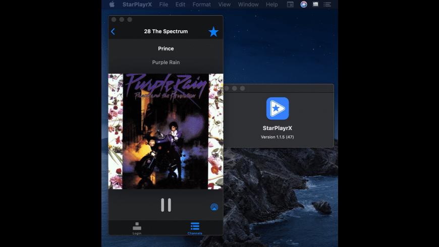 StarPlayrX for Mac - review, screenshots