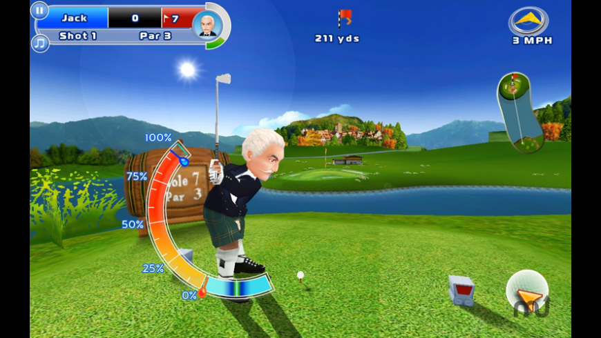 Let's Golf! 2 for Mac - review, screenshots