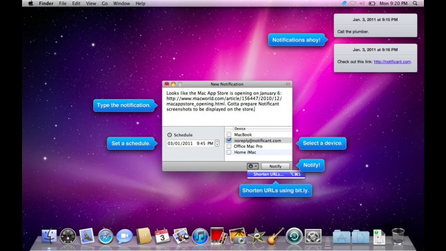 Notificant for Mac - review, screenshots