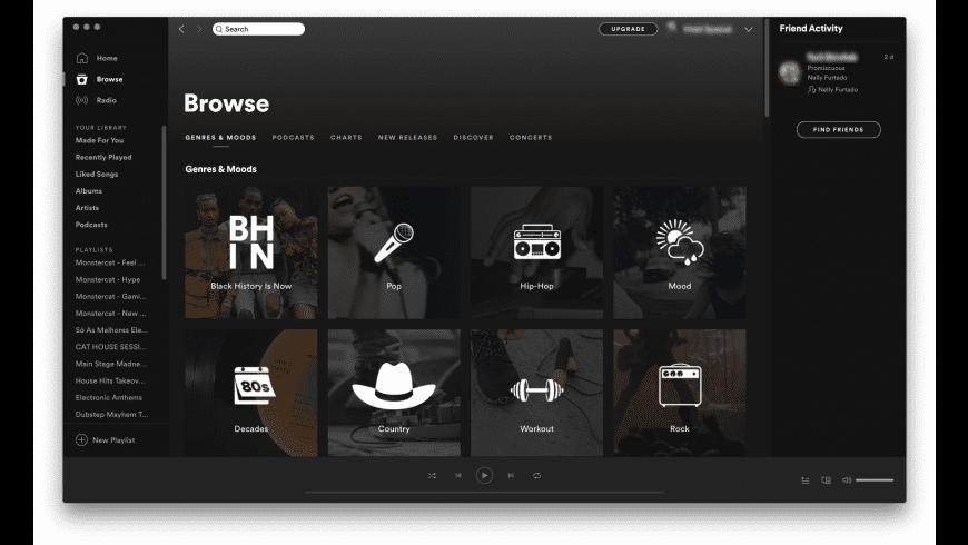 Spotify for Mac - review, screenshots