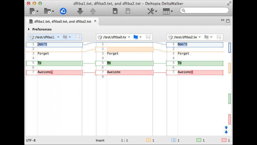 DeltaWalker Pro for Mac - review, screenshots
