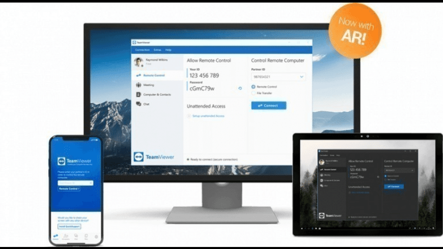 TeamViewer for Mac - review, screenshots