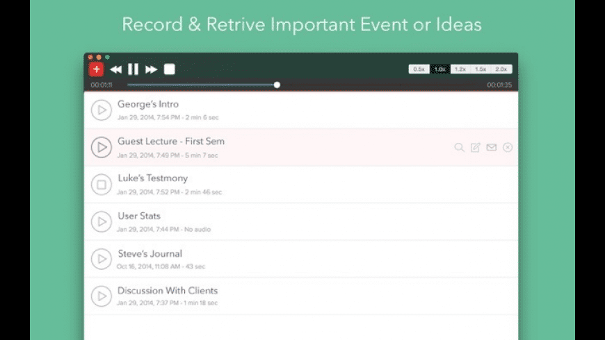 iRecorder for Mac - review, screenshots