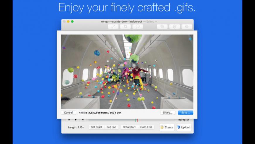 GIF Brewery for Mac - review, screenshots