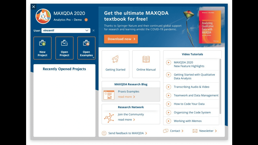 MAXQDA for Mac - review, screenshots