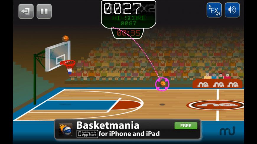 Basketmania for Mac - review, screenshots