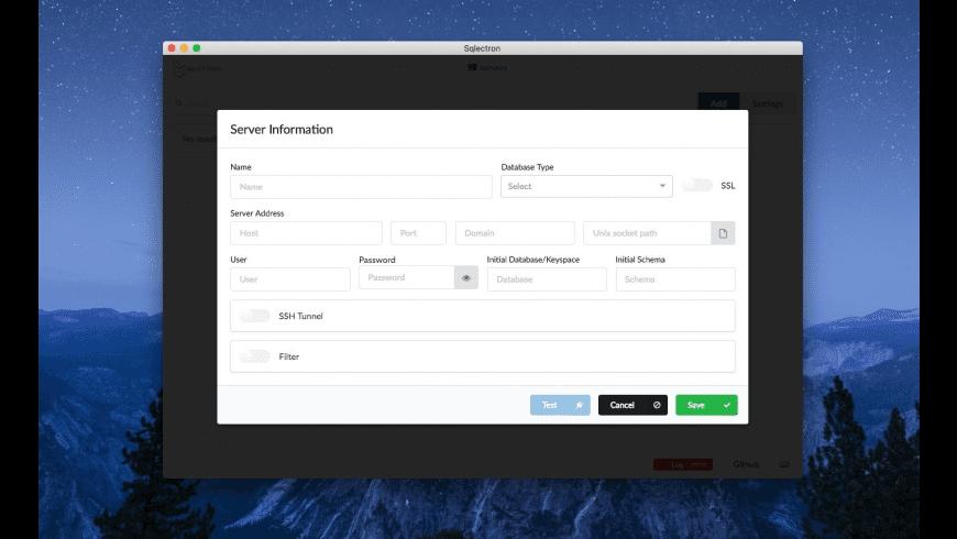 Sqlectron for Mac - review, screenshots