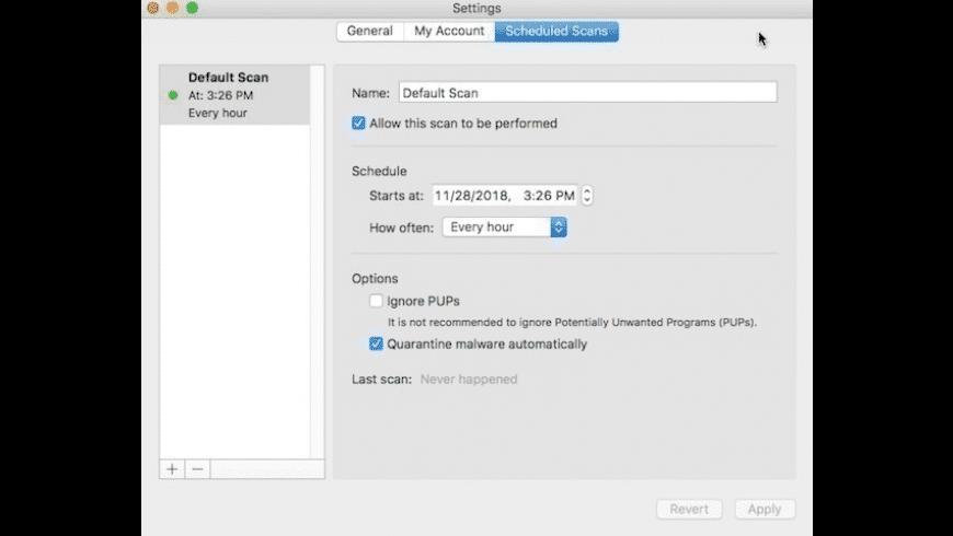 Malwarebytes for Mac - review, screenshots