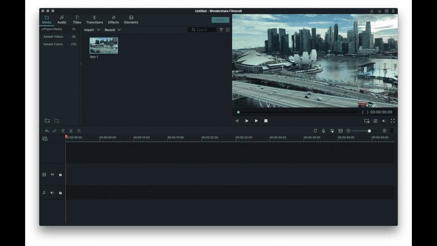 Wondershare Filmora for Mac - review, screenshots