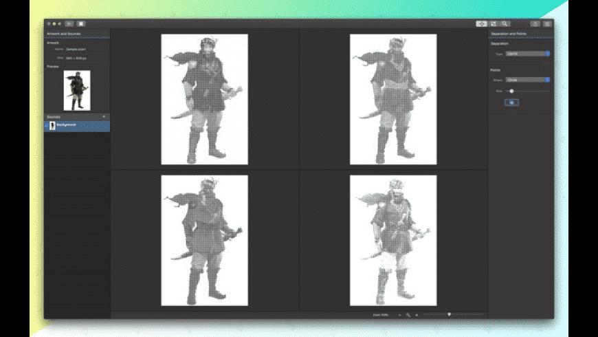 Separation Studio for Mac - review, screenshots
