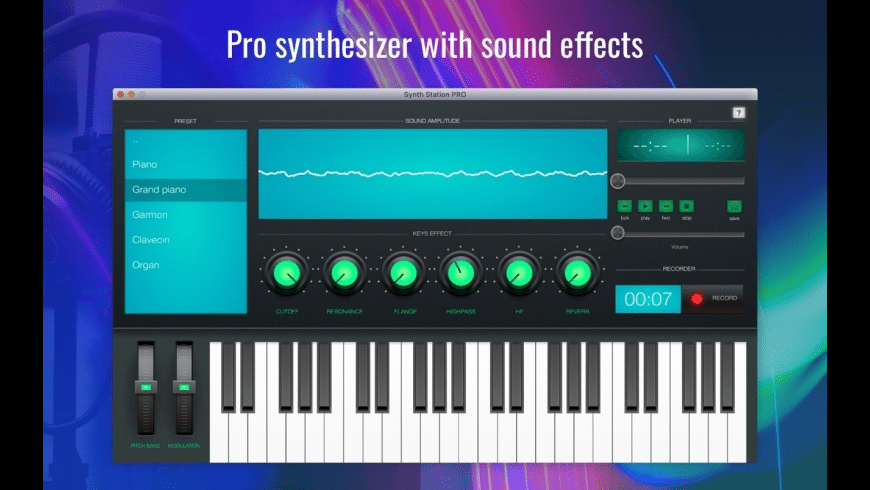 Synth Station PRO for Mac - review, screenshots