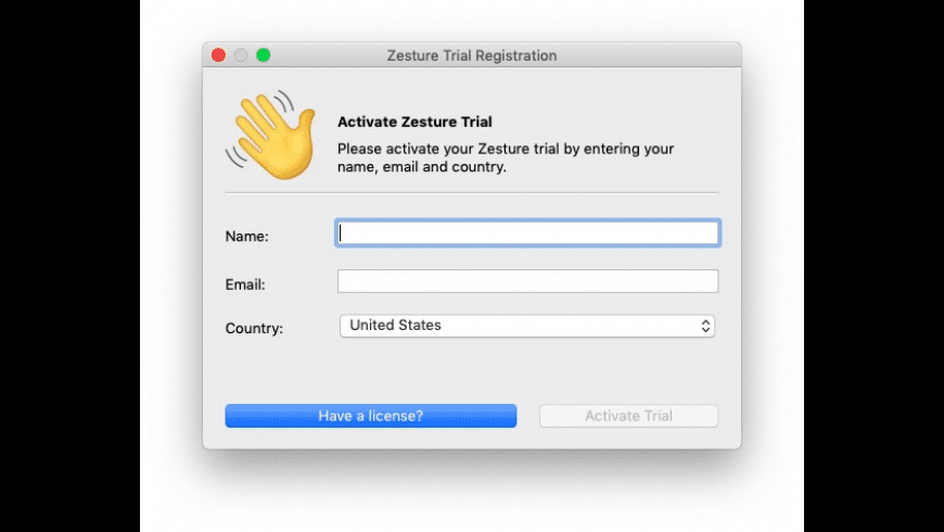 Zesture for Mac - review, screenshots