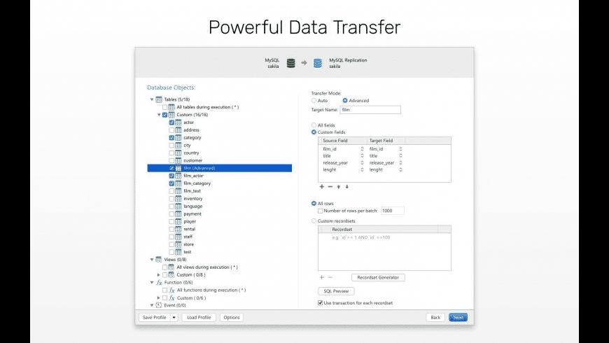 Navicat for SQLite for Mac - review, screenshots