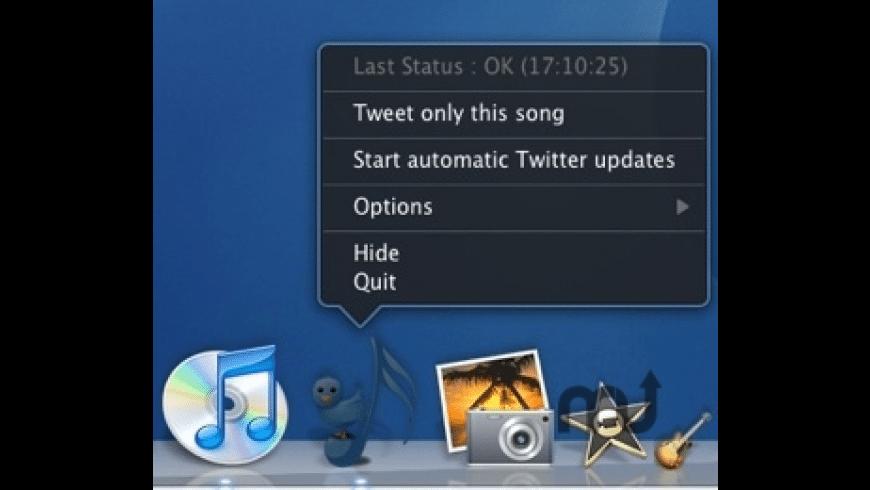 iTweetMyiTunes for Mac - review, screenshots