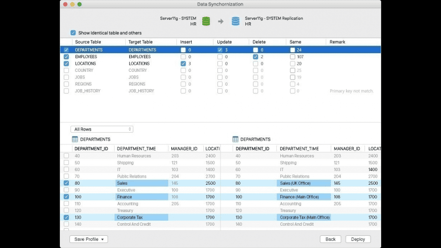 Navicat for Oracle for Mac - review, screenshots