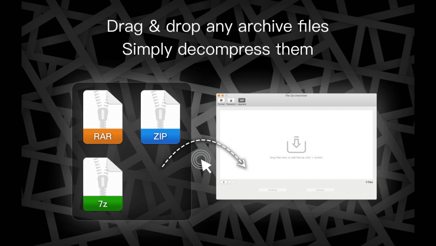 Oka Unarchiver for Mac - review, screenshots