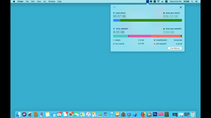 Free Memory for Mac - review, screenshots