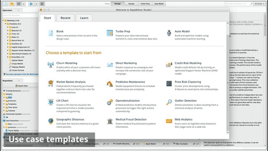 RapidMiner Studio for Mac - review, screenshots