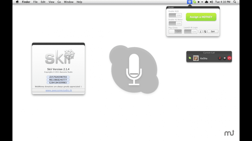 Skii for Mac - review, screenshots