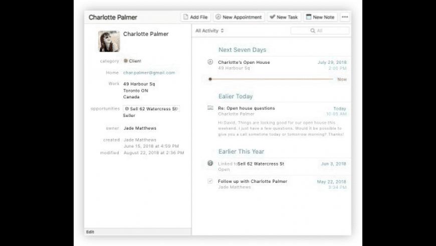Daylite for Mac - review, screenshots