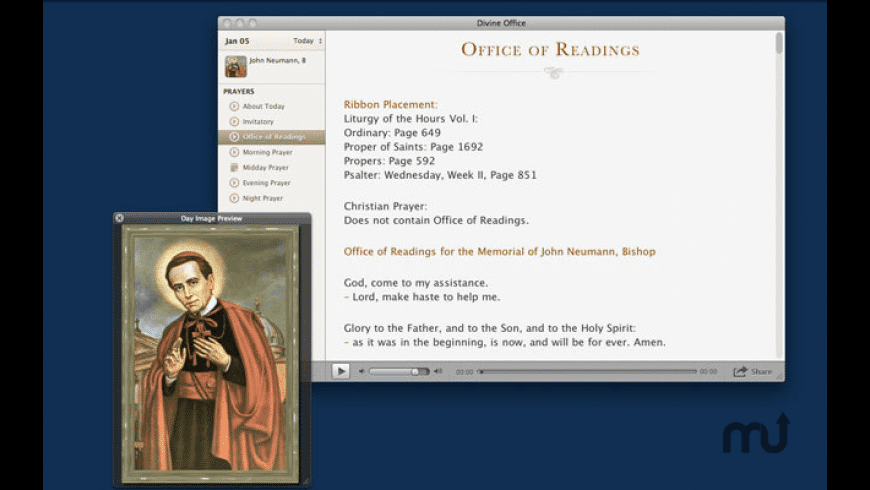 Divine Office for Mac - review, screenshots