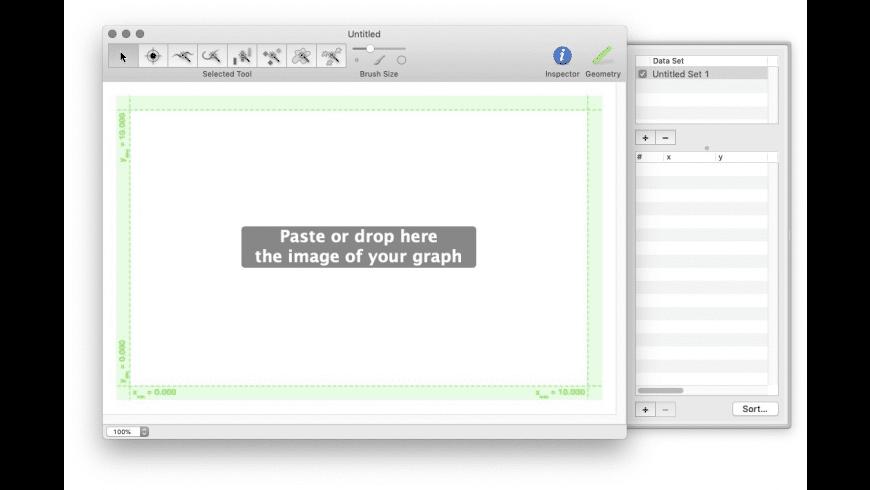 GraphClick for Mac - review, screenshots