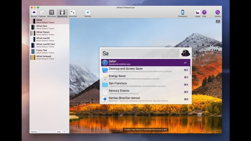 Alfred for Mac - review, screenshots