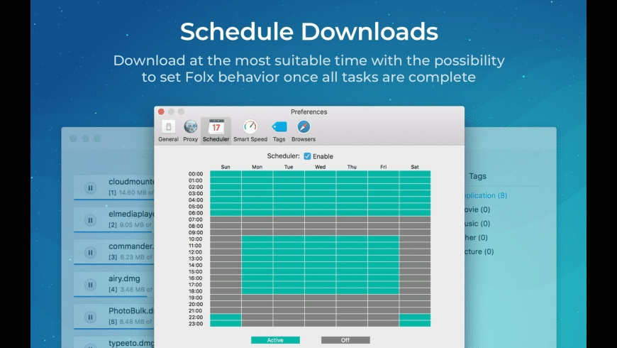 Folx GO for Mac - review, screenshots