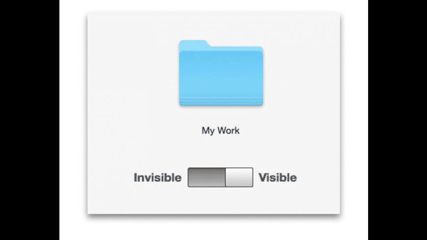 Secret Folder for Mac - review, screenshots