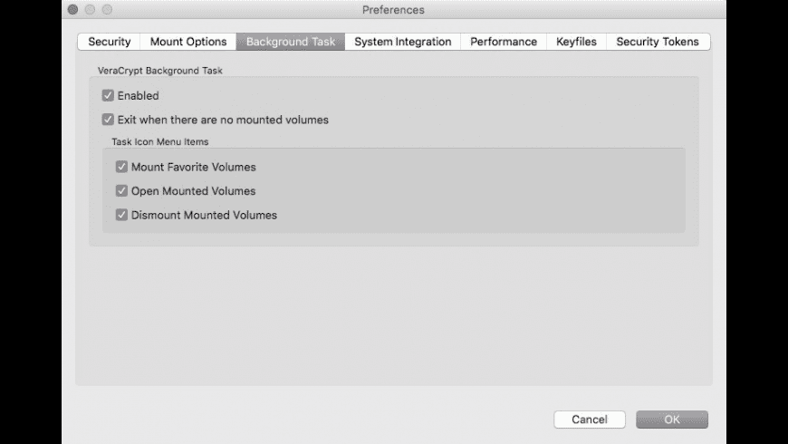 VeraCrypt for Mac - review, screenshots