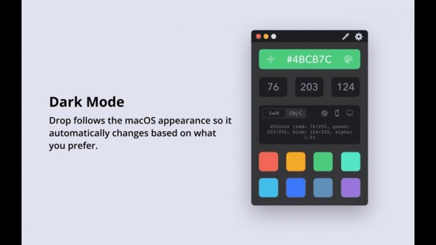 Drop for Mac - review, screenshots
