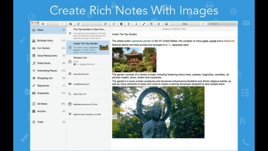 SnipNotes for Mac - review, screenshots