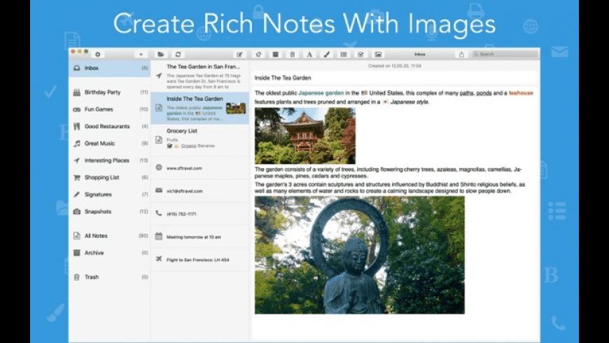 SnipNotes for Mac - review, screenshots