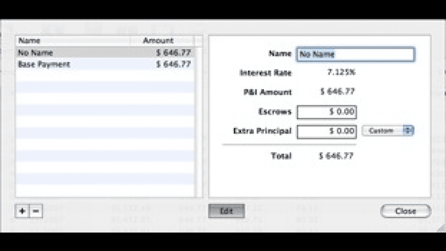 Mortgage Manager for Mac - review, screenshots