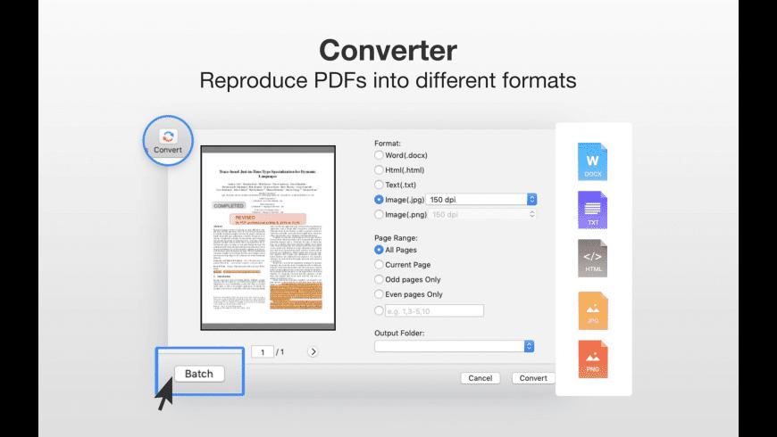 PDF Professional for Mac - review, screenshots