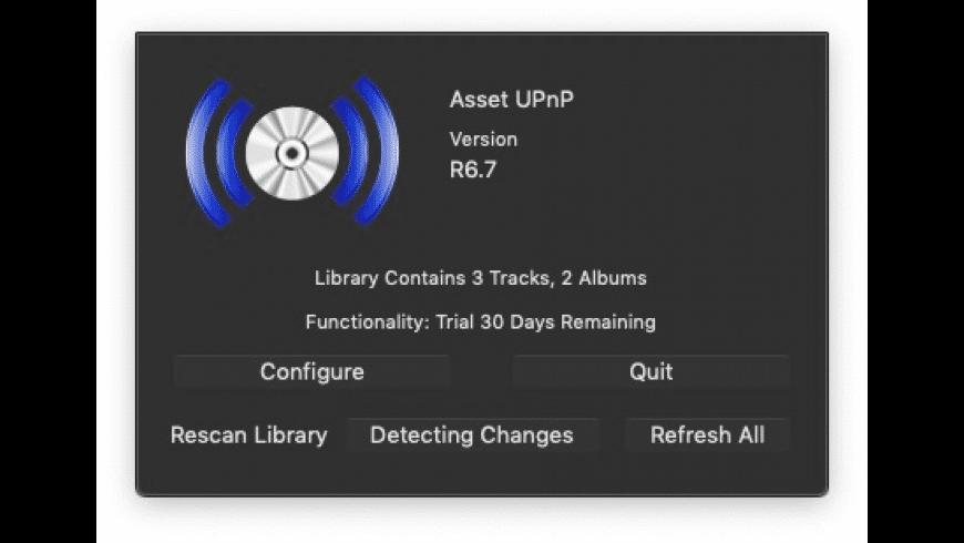 Asset UPnP for Mac - review, screenshots