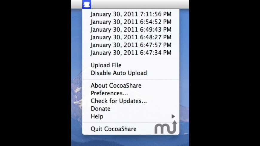 CocoaShare for Mac - review, screenshots