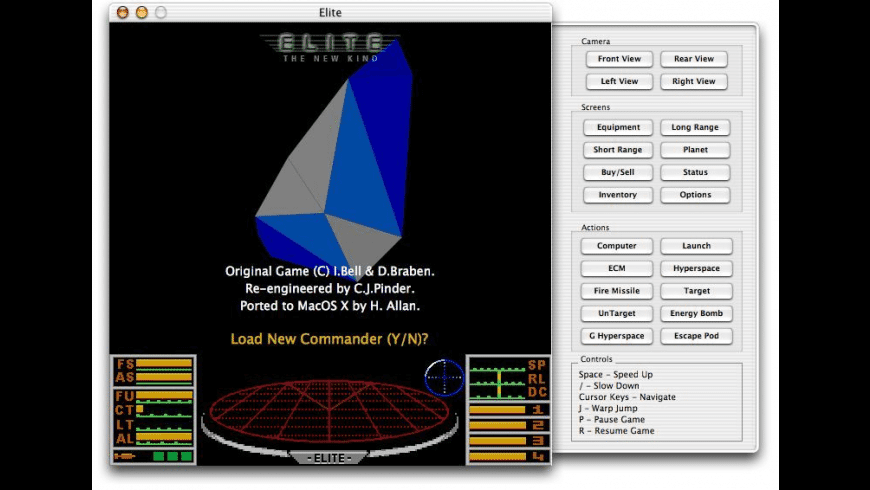 Elite TNK for Mac - review, screenshots