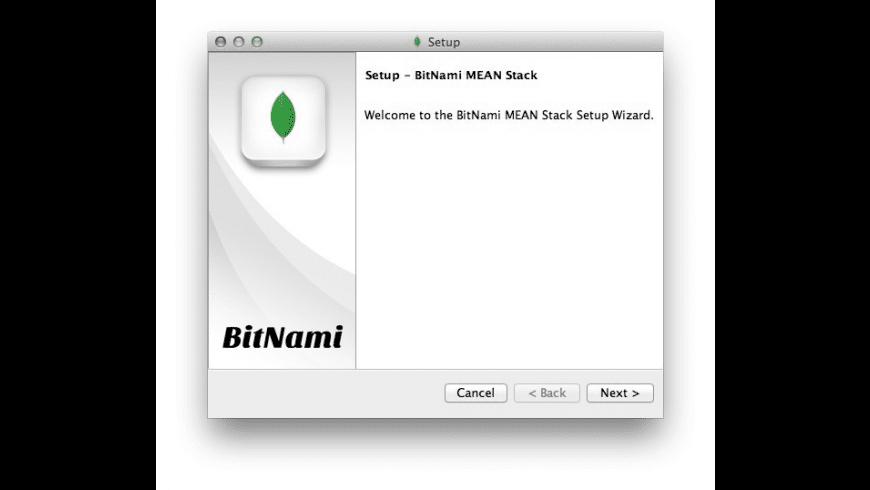 Bitnami MEAN for Mac - review, screenshots